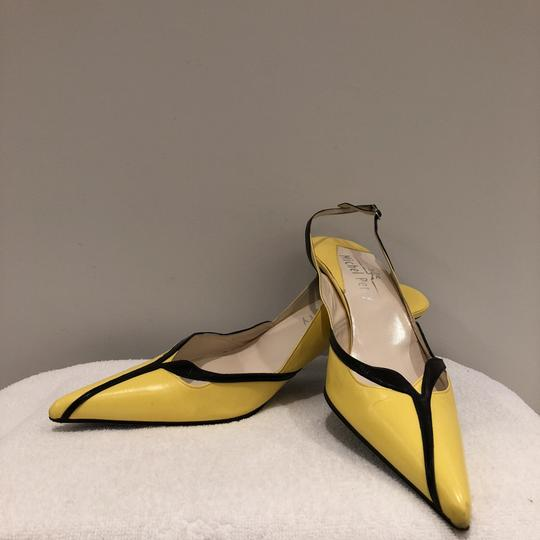 Michel Perry Yelow Pumps