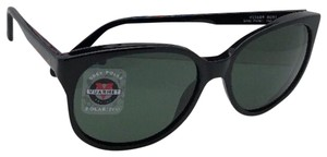 Vuarnet New Polarized VUARNET Sunglasses VL 1609 0001 Black Frame w/Grey Polar
