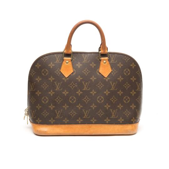 Preload https://item5.tradesy.com/images/louis-vuitton-alma-monogram-pm-brown-coated-canvas-tote-23102744-0-0.jpg?width=440&height=440