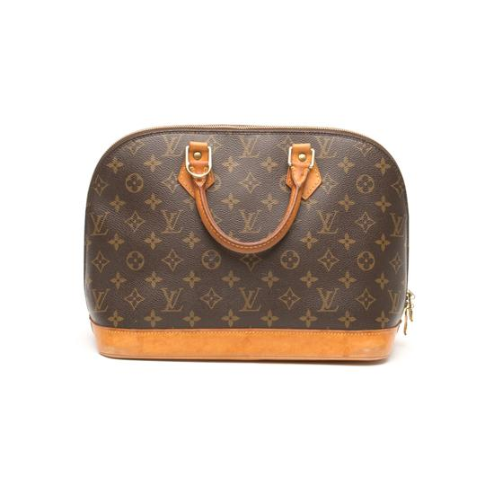 Louis Vuitton Alma Monogram Tote in Brown