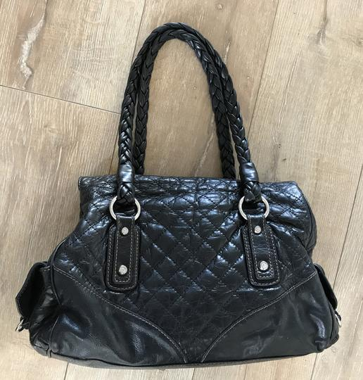 Francesco Biasia Quilted Leather Leather Purse Quilted Purse Leather Shoulder Bag