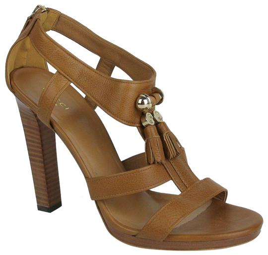 Preload https://item3.tradesy.com/images/gucci-brown-leather-heel-with-g-charm-tassels-395us-95-258365-2718-sandals-size-eu-395-approx-us-95--23102832-0-1.jpg?width=440&height=440