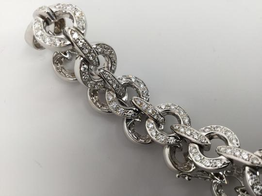 White Gold Diamond Cocktail Party Set Bracelet) Necklace