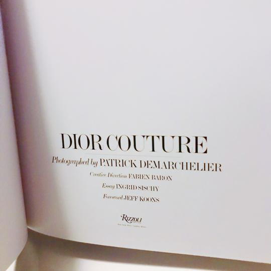 Dior Couture Coffee Table Book
