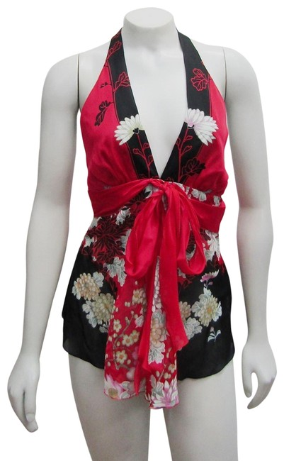Preload https://item5.tradesy.com/images/roberto-cavalli-multicolor-new-38-sm-kimono-floral-print-silk-belted-halter-top-size-2-xs-23102939-0-1.jpg?width=400&height=650
