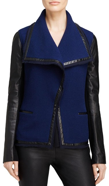Preload https://item4.tradesy.com/images/vince-leather-sleeve-boucle-leather-jacket-size-6-s-23103038-0-1.jpg?width=400&height=650