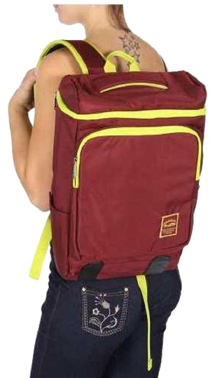 Preload https://item1.tradesy.com/images/new-laptop-burgandy-nylon-backpack-23103055-0-1.jpg?width=440&height=440