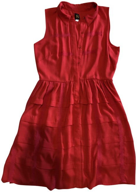 Preload https://item5.tradesy.com/images/sachin-babi-red-mid-length-workoffice-dress-size-4-s-23103099-0-1.jpg?width=400&height=650