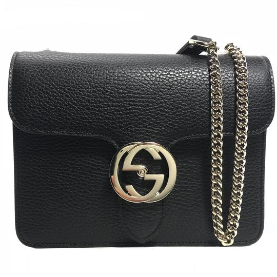 1ad38c409678 Gucci Cross Body Bag Black Leather | Stanford Center for Opportunity ...