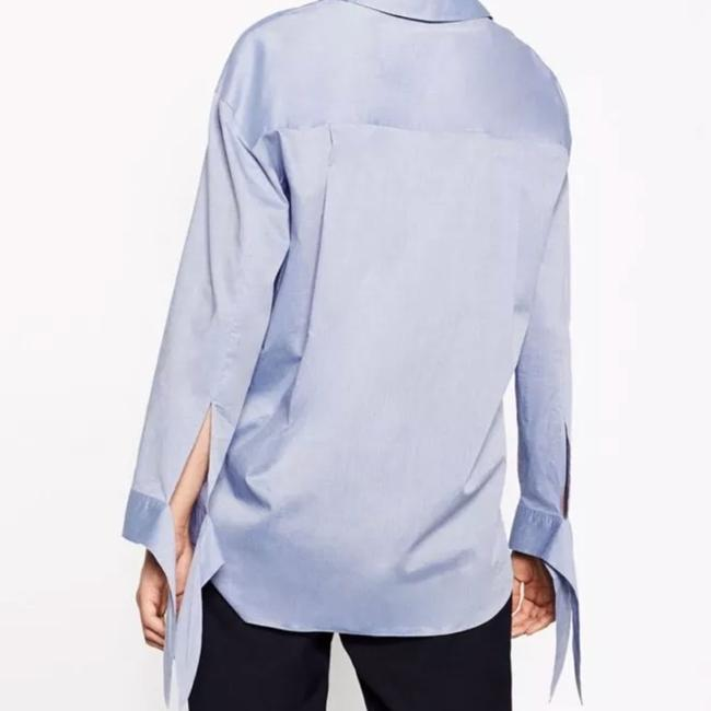 Zara Top blue