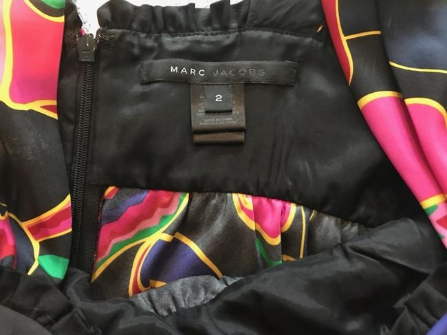 Marc Jacobs Silk Top Black with Floral Print