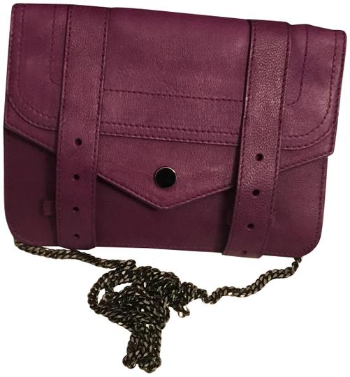 Preload https://img-static.tradesy.com/item/23103330/proenza-schouler-new-ps1-woc-purple-leather-cross-body-bag-0-1-540-540.jpg