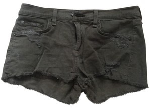 Rag & Bone Mini/Short Shorts green