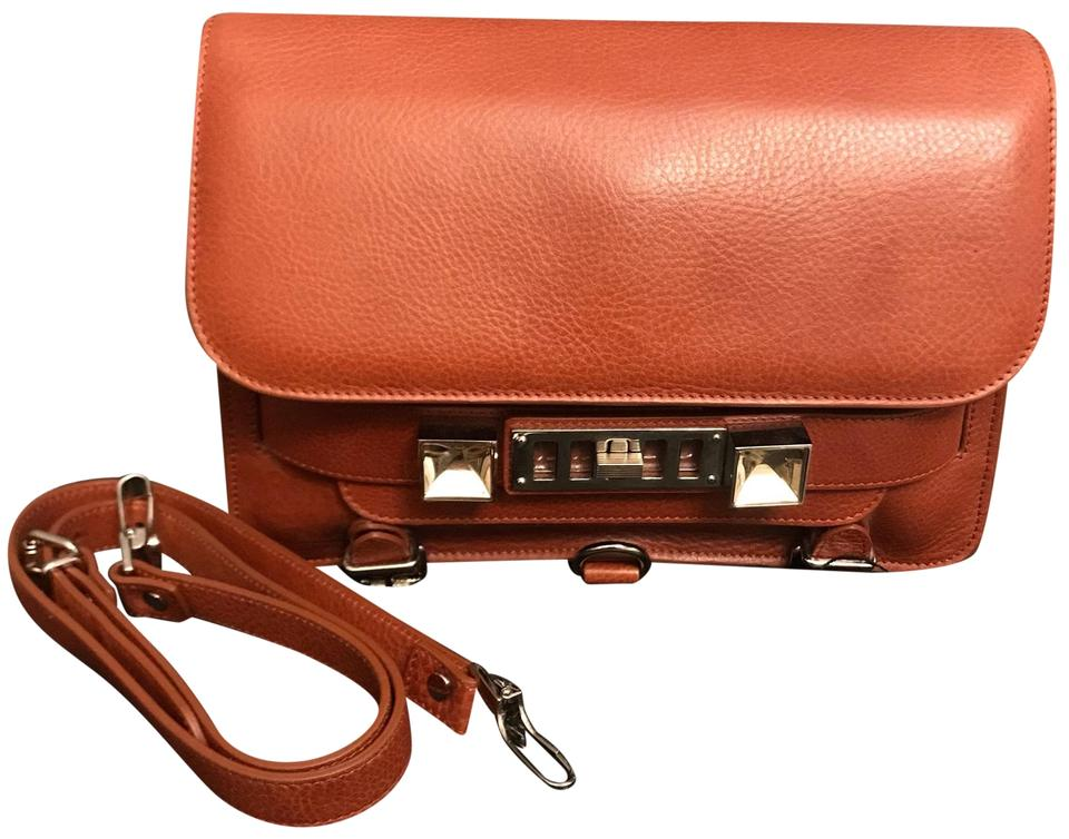 Leather Brown Bag Schouler Saddle Shoulder Classic Ps11 Proenza qxCzBnwPHq