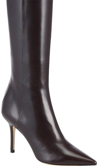Preload https://img-static.tradesy.com/item/23103421/jimmy-choo-brown-alma-bootsbooties-size-eu-375-approx-us-75-regular-m-b-0-1-540-540.jpg