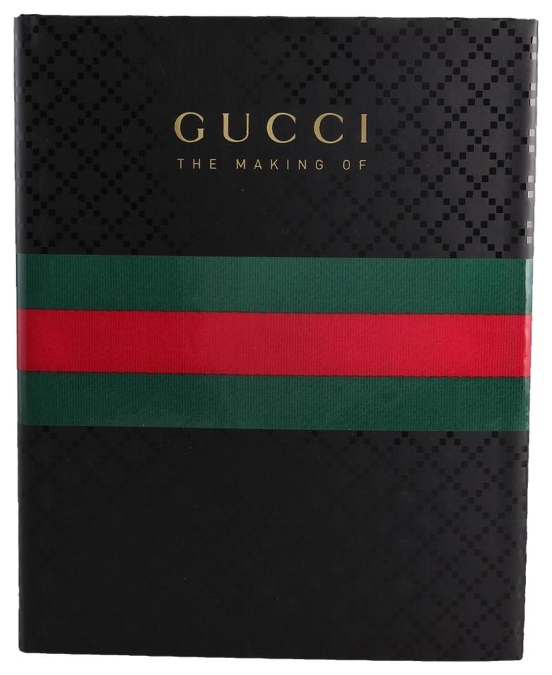Gucci Black Red Green The Making Of Coffee Table Book Tradesy - Gucci coffee table