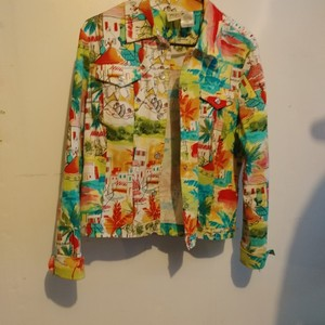 Norm Thompson Multi-color Jacket
