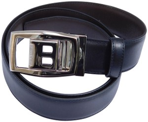 Bally BALLY BLACK/BROWN REVERSIBLE BUCKLE BELT