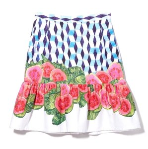 ISOLDA Skirt White, Blue, Pink