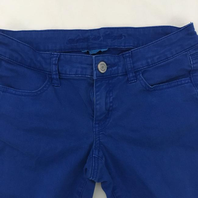 American Eagle Outfitters Skinny Pants Blue