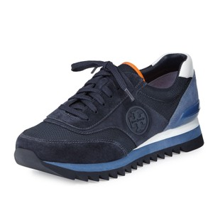 Tory Burch Tory Navy/White/Laguna Blue Athletic