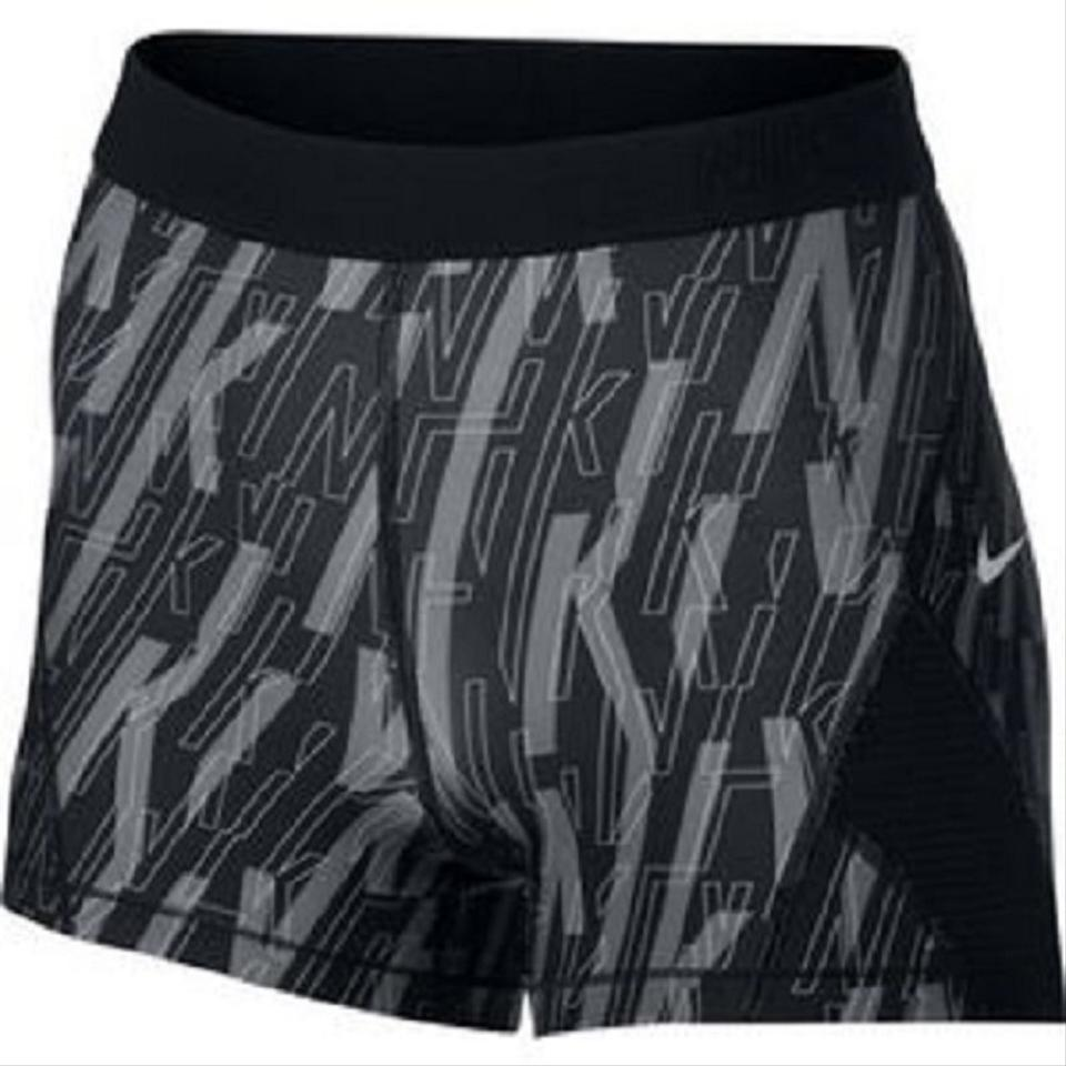 f31718ad50cb7 Nike Black / Pure Platinum Women's Pro Hypercool 830598-013 Activewear  Bottoms