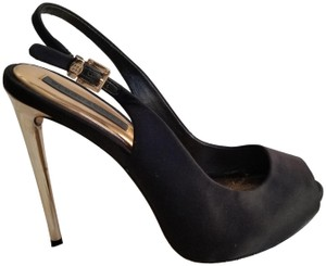 BCBGMAXAZRIA Black/gold Formal