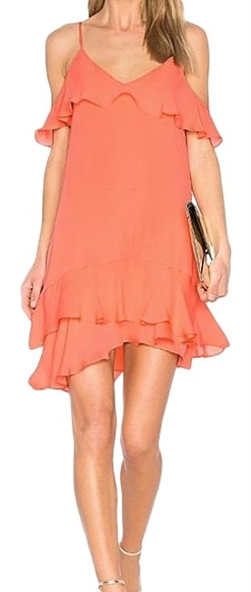 Preload https://img-static.tradesy.com/item/23104193/parker-clementine-thatcher-ruffle-short-casual-dress-size-8-m-0-1-650-650.jpg