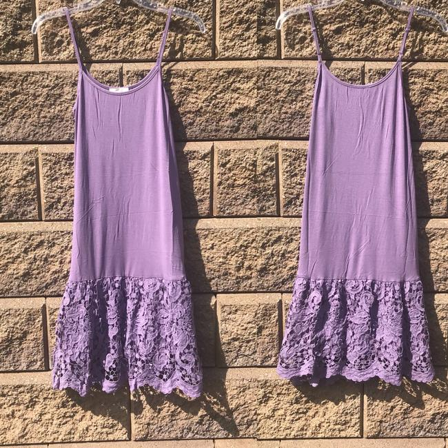 ODDI short dress Purple Lace Extender Slip Extender Slip Slip Extender on Tradesy