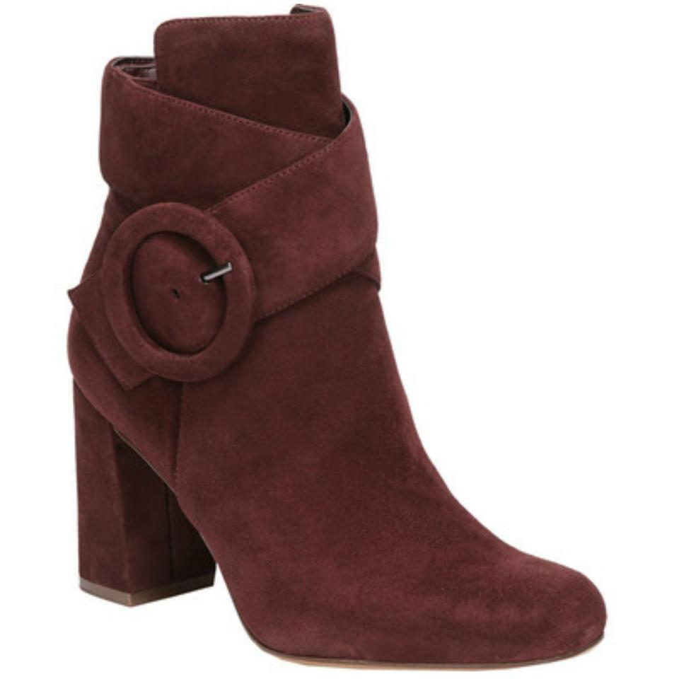 Naturalizer Burgundy Rae 10w Block Heel Bordo Suede 10w Rae Ankle Boots/Booties 41a3e6