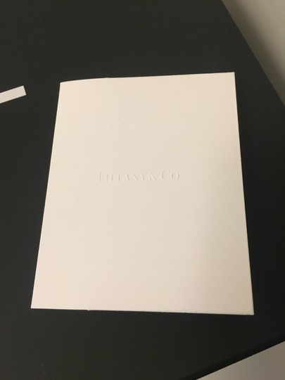 Tiffany & Co. White Envelope Receipt Holder Co Logo