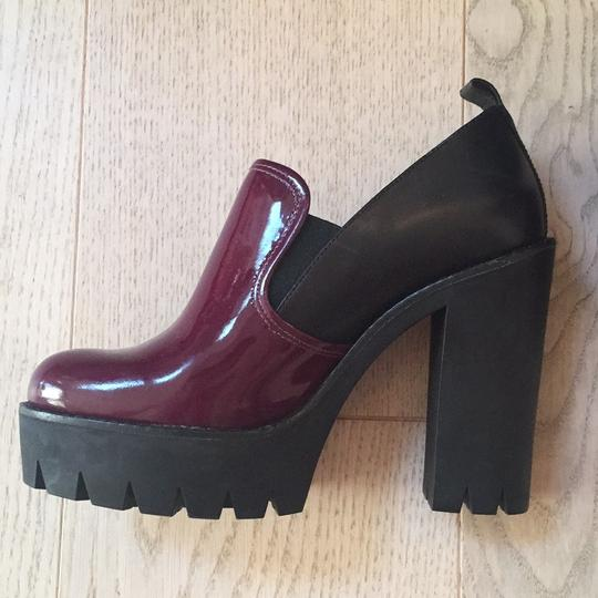 Marc Jacobs burgundy and black Mules