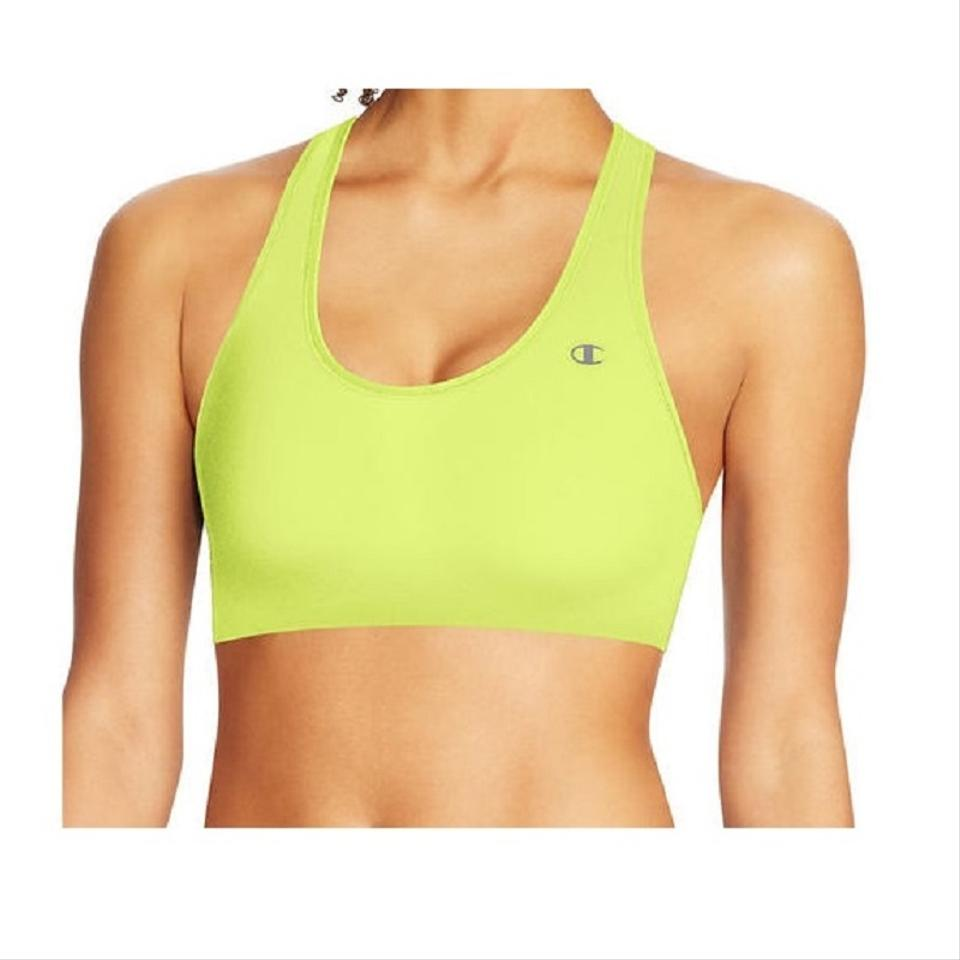 880d45640b504 Champion Yellow The Absolute Comfort Racerback Xl Activewear Sports ...