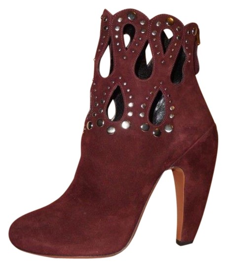 Preload https://img-static.tradesy.com/item/23104487/alaia-wine-burgundy-suede-studded-grommet-rivet-cutout-ankle-bootsbooties-size-eu-39-approx-us-9-reg-0-1-540-540.jpg