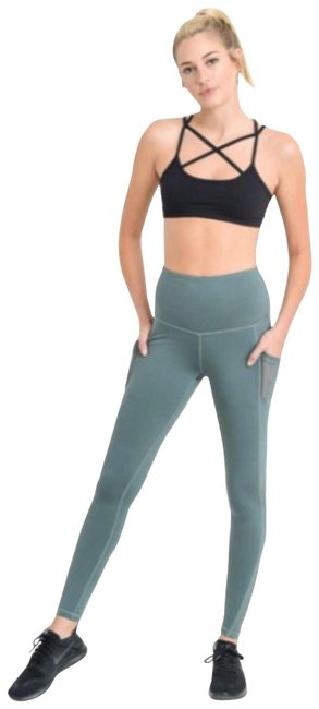 Preload https://img-static.tradesy.com/item/23104513/light-teal-blue-s-mesh-yoga-pants-with-pockets-high-waist-not-see-through-activewear-leggings-size-4-0-5-650-650.jpg