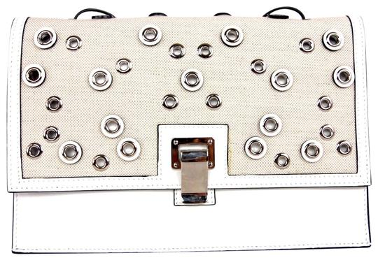 Preload https://img-static.tradesy.com/item/23104573/proenza-schouler-embellished-small-lunch-white-leather-and-canvas-cross-body-bag-0-1-540-540.jpg