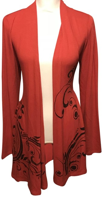 Preload https://img-static.tradesy.com/item/23104617/red-long-sleeve-cardigan-size-12-l-0-1-650-650.jpg