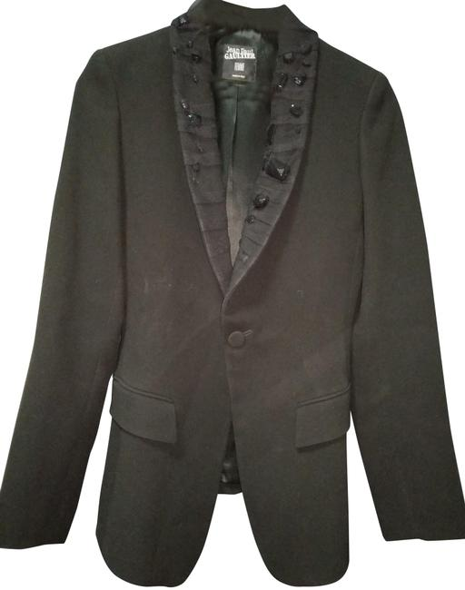 Preload https://img-static.tradesy.com/item/23104654/jean-paul-gaultier-black-small-elongated-sillouette-made-in-italy-jacket-size-6-s-0-1-650-650.jpg