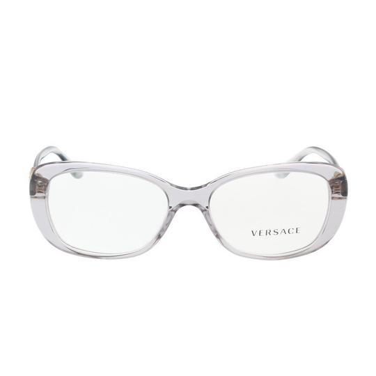 Versace New Versace VE3234B 593 Eyeglass Frames Transparent Gray 53-16-140