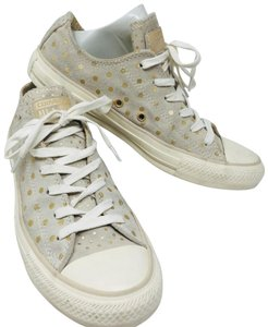 Converse grey and gold Athletic