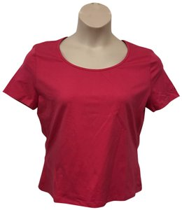 St. John Sport by Marie Gray T Shirt Dark Pink
