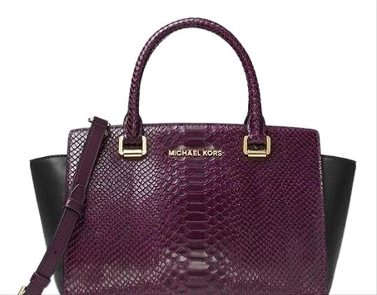 Preload https://img-static.tradesy.com/item/23105040/michael-kors-medium-selma-multicolor-leather-satchel-0-2-540-540.jpg