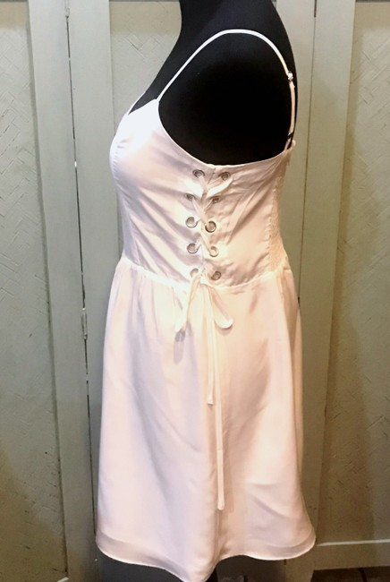 Parker short dress white Lace Up Sweetheart Flattering Adjustable on Tradesy