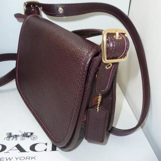 Coach oxblood multi Messenger Bag