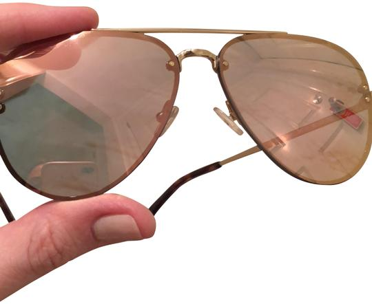 Preload https://img-static.tradesy.com/item/23105221/celine-pink-and-gold-mirrored-lens-aviator-frames-with-gold-hardware-and-tortoise-shell-accent-41392-0-3-540-540.jpg