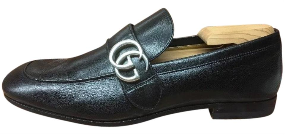2aceeb6e928b Gucci Black Sold Out Donnie Bit Loafer Men s Leather Uk 8 Flats Size ...