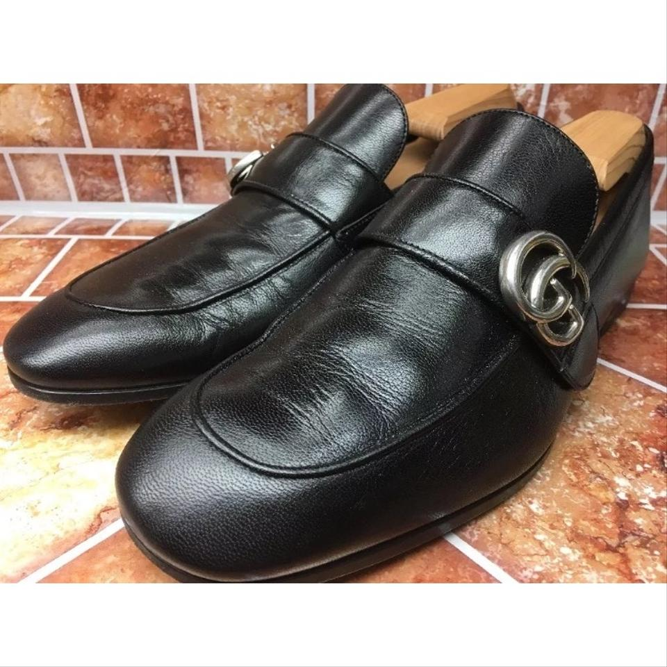 b03f49b459b6 Gucci Black Sold Out Donnie Bit Loafer Men s Leather Uk 8 Flats Size US 8  Regular (M