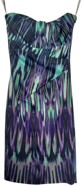 Preload https://img-static.tradesy.com/item/23105301/karen-millen-purple-multi-marble-print-bandeau-mid-length-cocktail-dress-size-2-xs-0-1-650-650.jpg