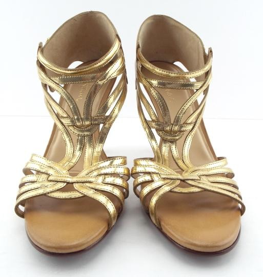 Cole Haan Gold/Beige Sandals
