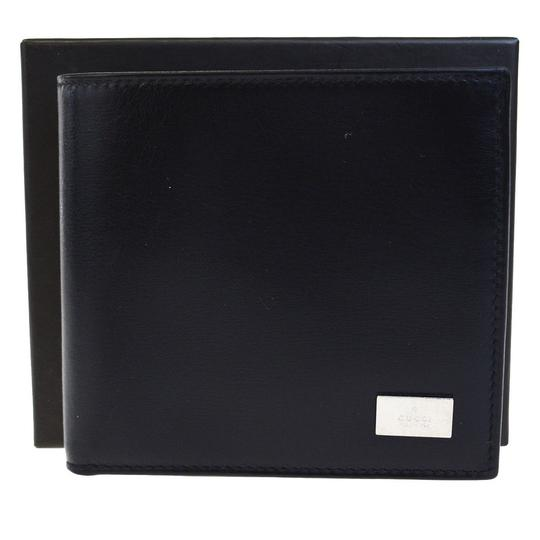 Preload https://img-static.tradesy.com/item/23105500/gucci-black-logos-bifold-purse-leather-silver-plated-italy-wallet-0-0-540-540.jpg